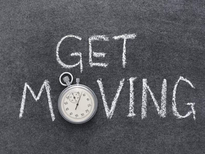 5 ways to get up and move!